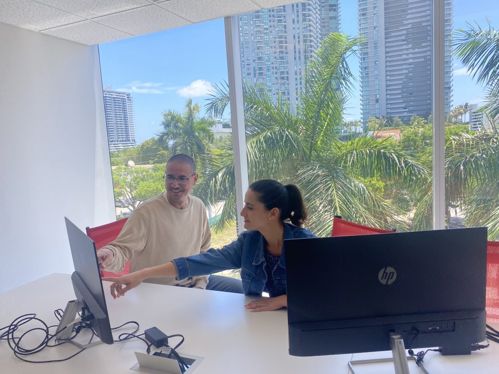 Guaranteed Removals Collaboration in the Miami office